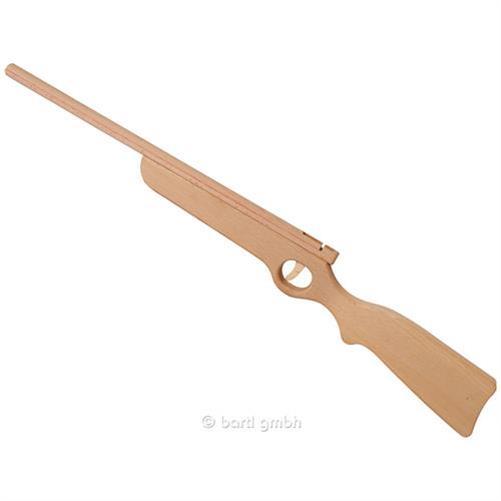 bartl holzgewehr mit gummiband spielzeuggewehr. Black Bedroom Furniture Sets. Home Design Ideas