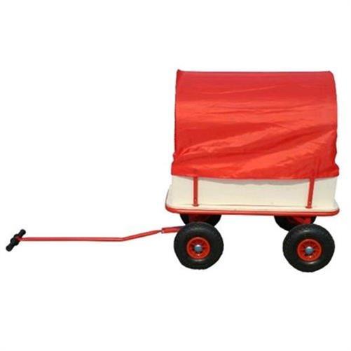 bino bollerwagen mit plane boller wagen reifen 26cm wei. Black Bedroom Furniture Sets. Home Design Ideas