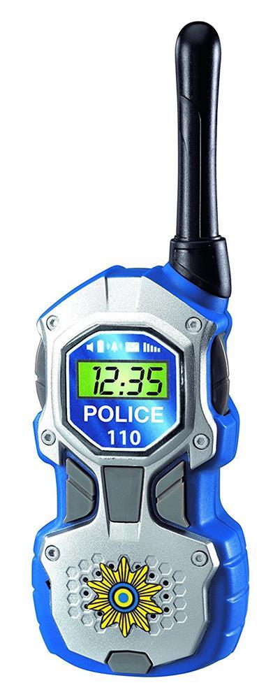 dickie toys 201118181 walkie talkie polizei 80m reichweite funkger t spielzeug ebay. Black Bedroom Furniture Sets. Home Design Ideas
