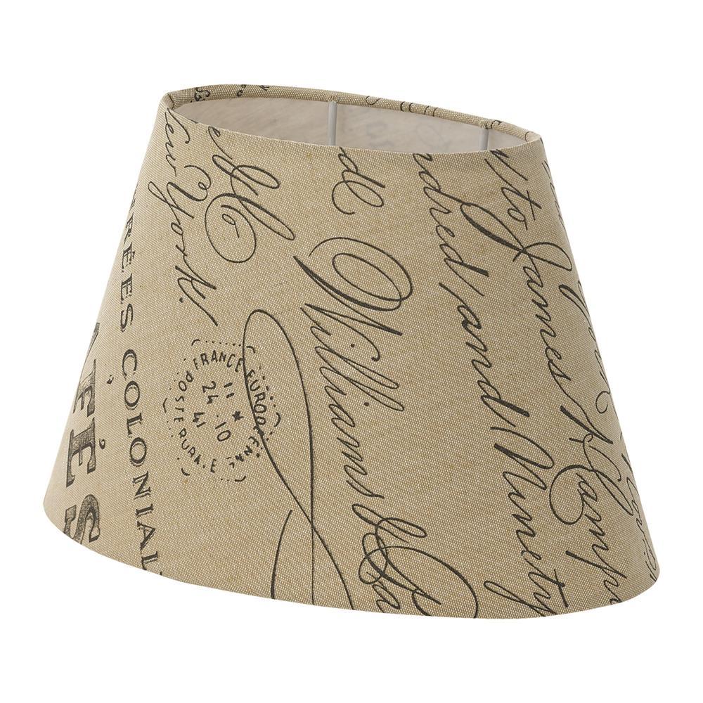 eglo vintage 1 1 shabby chic stoff lampen schirm tisch design leuchte leinen ebay. Black Bedroom Furniture Sets. Home Design Ideas