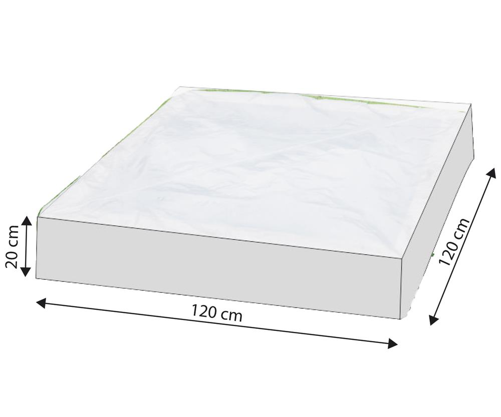 happy people 79270 schutzh lle f r sandkasten transparent. Black Bedroom Furniture Sets. Home Design Ideas