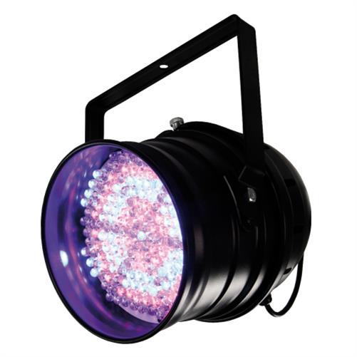 led strahler hollywood p64 par 64 181 leds dmx steuerung beleuchtung bunt ebay. Black Bedroom Furniture Sets. Home Design Ideas
