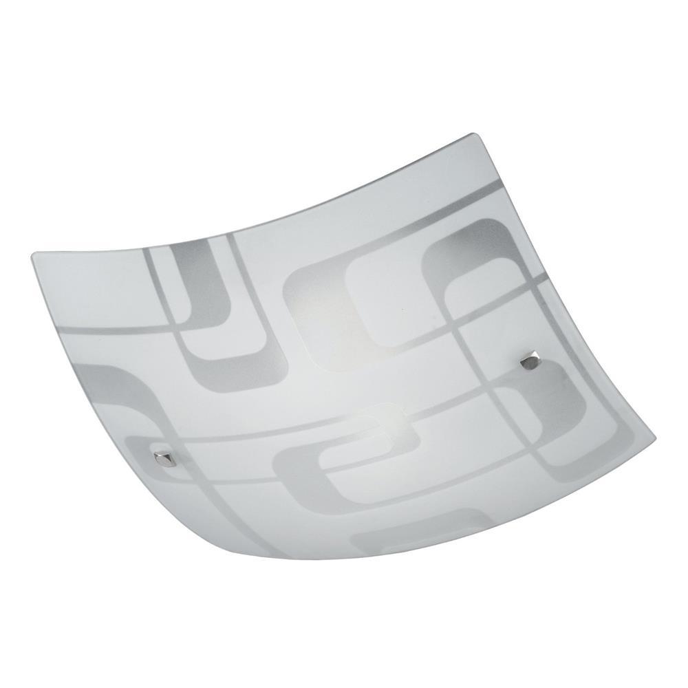 Honsel-Deckenleuchte-eckig-Deckenlampe-Flurleuchte-Glasleuchte-Design-Glas-weiss