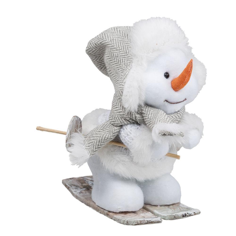 Idena weihnachtsdeko winter pl sch dekoration figuren for Dekoration schneemann