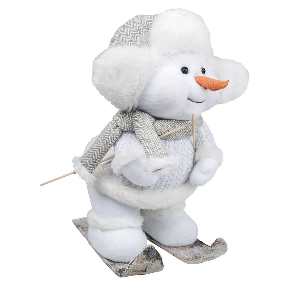 Idena weihnachtsdeko winter pl sch dekoration figuren - Weihnachtsdeko figuren ...