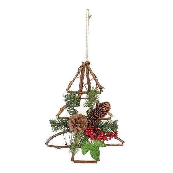 idena weihnachtskranz t r kranz weihnachten dekoration stern tannenbaum winter ebay. Black Bedroom Furniture Sets. Home Design Ideas