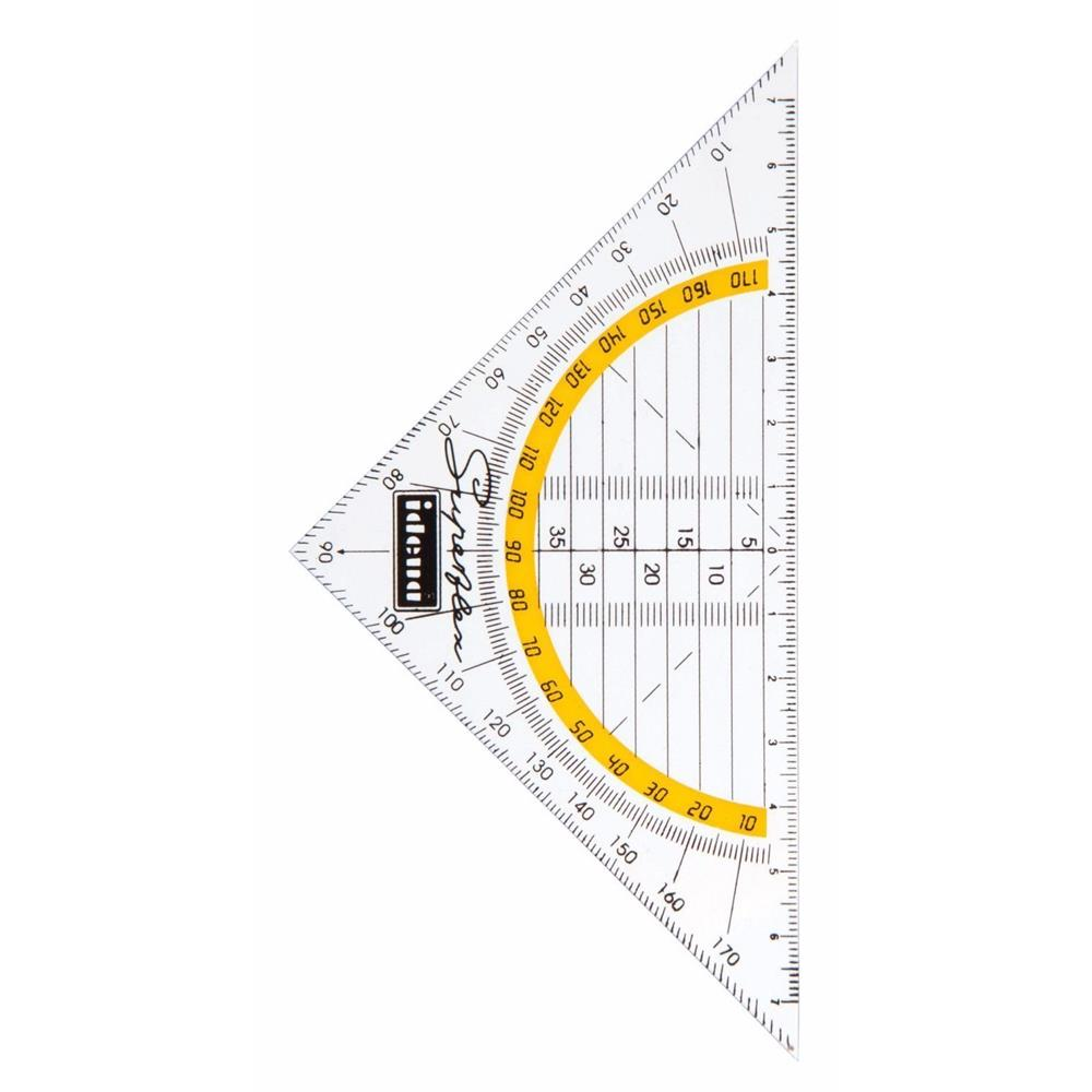 Idena- Zeichenwerkzeug Pinsel Weiß Zirkel Geo Zähl Rahmen Karten ...