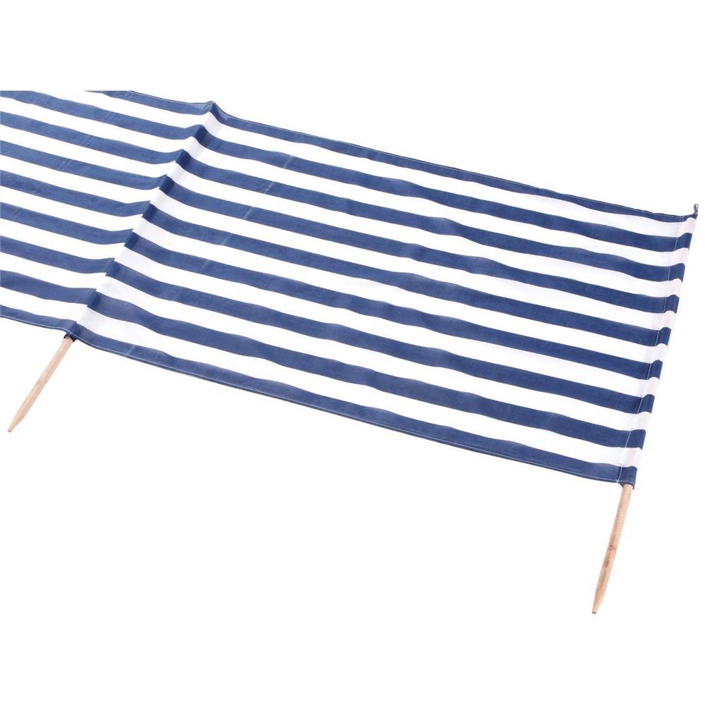 idena 7570021 windschutz ca 800 x 80 cm blau wei. Black Bedroom Furniture Sets. Home Design Ideas