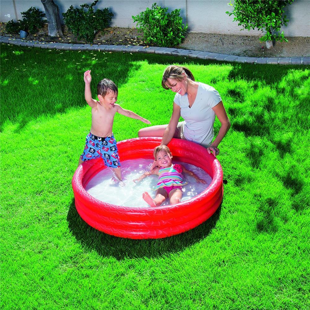 bestway planschbecken kinder pool schwimmbecken swimmingpool 3 ring badespa ebay. Black Bedroom Furniture Sets. Home Design Ideas