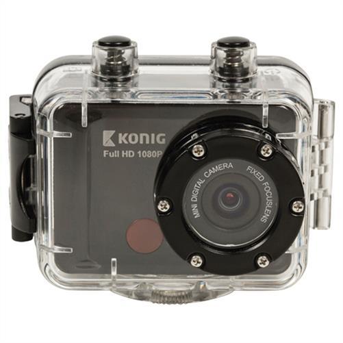 König Full HDActionKamera mit 1080p und wasserdichtem Digicam