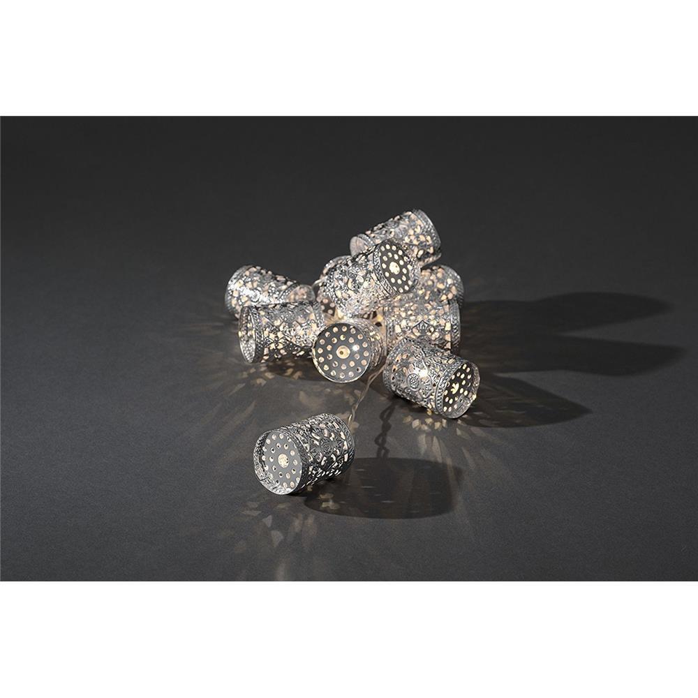 konstsmide led lichterketten weihnachten deko beleuchtung ball stern metall. Black Bedroom Furniture Sets. Home Design Ideas