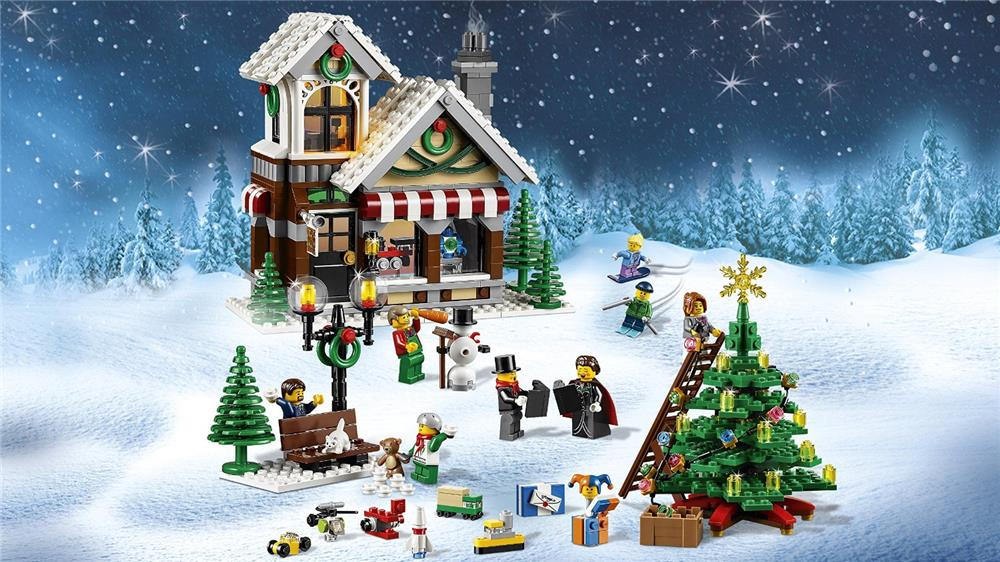 lego creator 10249 weihnachtlicher spielzeugladen. Black Bedroom Furniture Sets. Home Design Ideas
