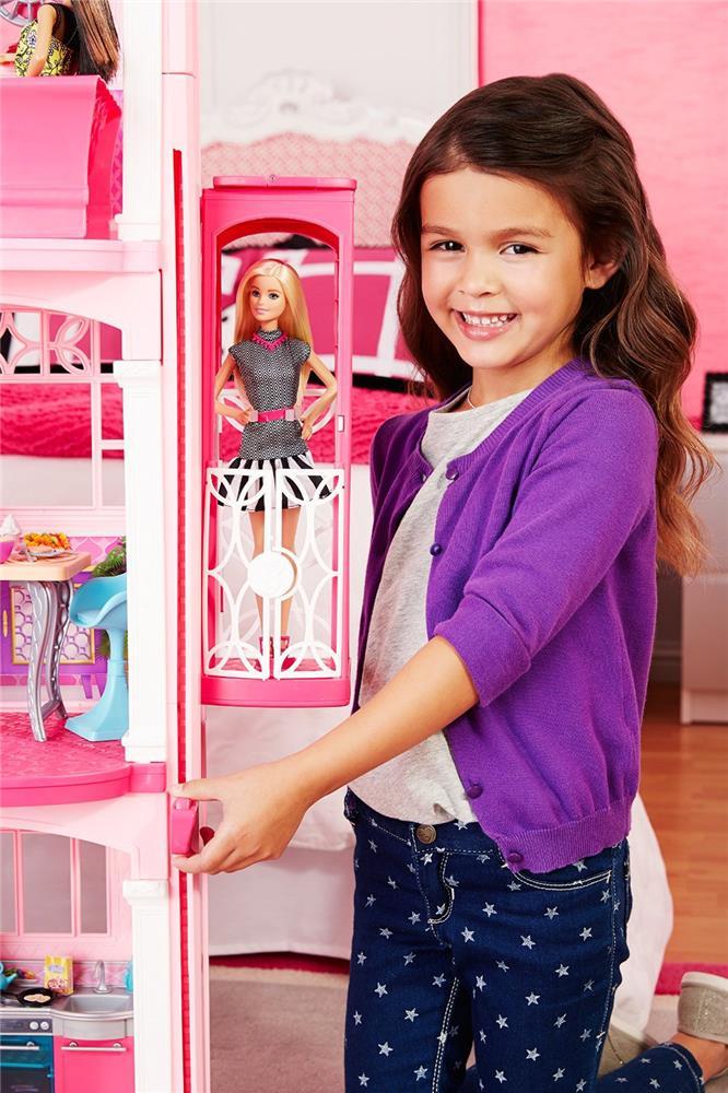 mattel barbie cjr47 modepuppenzubeh r traumvilla neu ebay. Black Bedroom Furniture Sets. Home Design Ideas