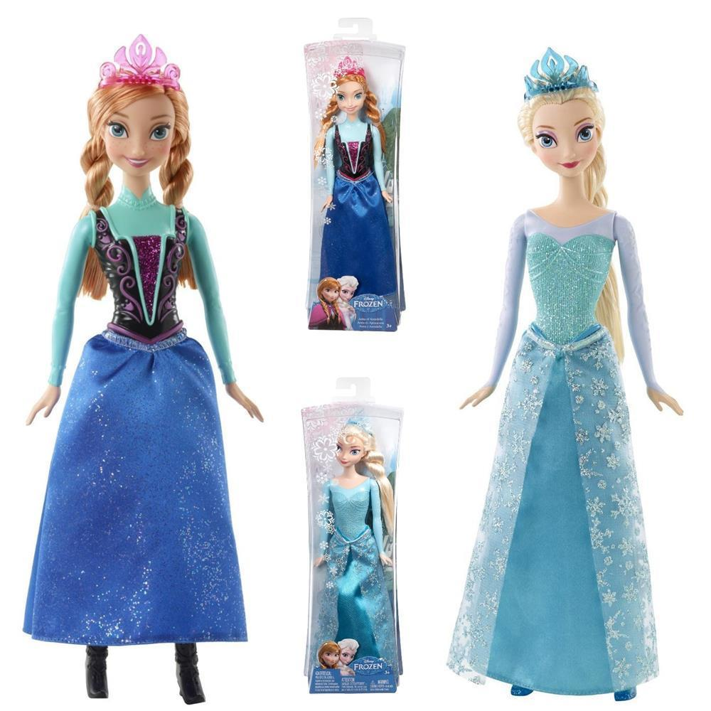 mattel eisk nigin anna puppe frozen cfb81 oder elsa cfb73 und neu im set ebay. Black Bedroom Furniture Sets. Home Design Ideas