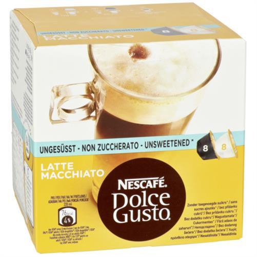 nescafe dolce gusto latte macchiato unges sst kapseln f r. Black Bedroom Furniture Sets. Home Design Ideas