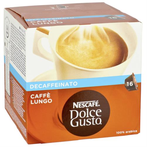 nescafe dolce gusto caffe lungo entkoffeiniert kapseln f r kaffee maschine pads ebay. Black Bedroom Furniture Sets. Home Design Ideas