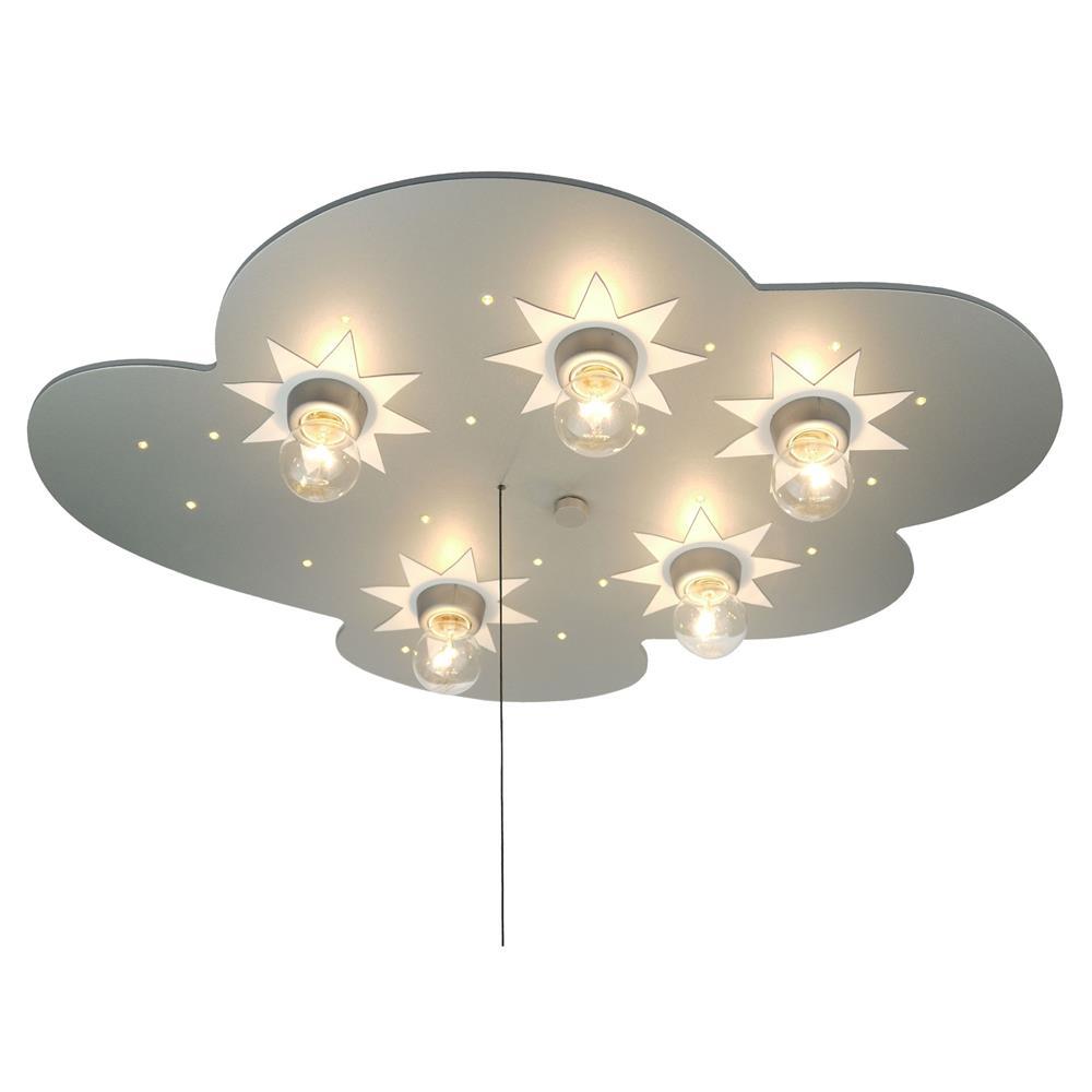 niermann standby deckenleuchte wolke titan sternendecken lampe leuchte kinder ebay. Black Bedroom Furniture Sets. Home Design Ideas
