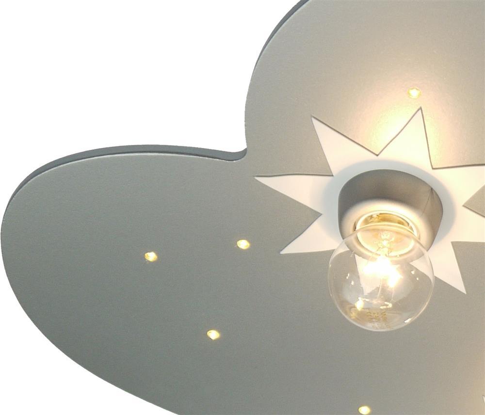niermann standby deckenleuchte wolke titan sternendecken lampe leuchte kinder. Black Bedroom Furniture Sets. Home Design Ideas