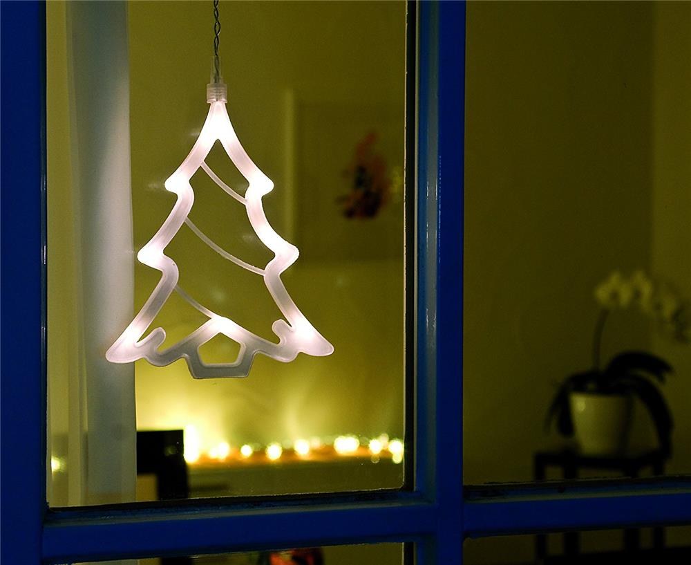 Led fensterbild tannenbaum weihnachtsbaum dekoration - Tannenbaum dekoration ...