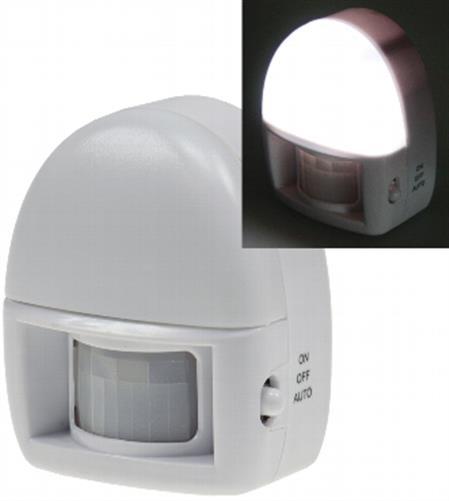 nachtlicht mit bewegungsmelder 3 leds batteriebetrieb nachtlampe nachtleuchte ebay. Black Bedroom Furniture Sets. Home Design Ideas