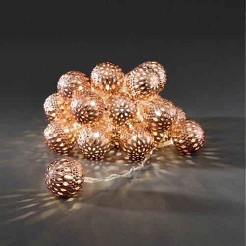 konstsmide led lichterketten weihnachten deko beleuchtung ball stern metall ebay. Black Bedroom Furniture Sets. Home Design Ideas