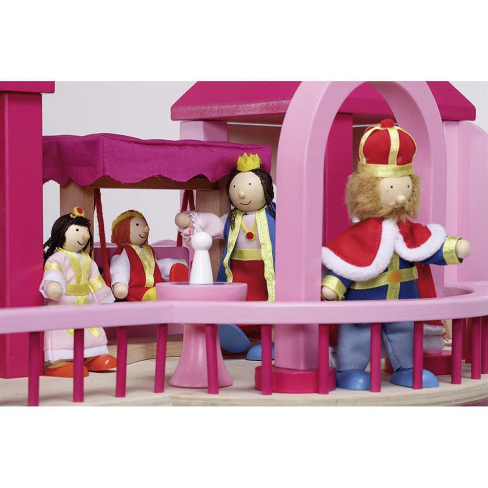 Puppenhaus Holz Ohne ZubehOr ~   , mit Anbau, Schloss ohne Zubehör, Holz, Puppenhaus , NEU  eBay