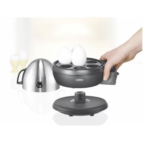 eierkocher onyx von unold 1 7 eier edelstahl schwarz einstellbarer h rtegrad ebay. Black Bedroom Furniture Sets. Home Design Ideas