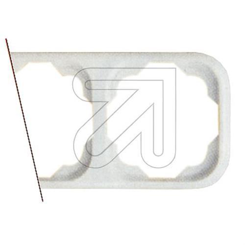 KLEIN-Rahmen-3-fach-waagerecht-K743-02-TASTER-EINSATZ-ABDECKUNG-SCHALTER-QUADRAT