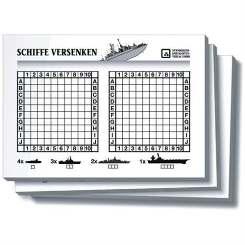 nuernberger spielkarten schiffe versenken reisespiel