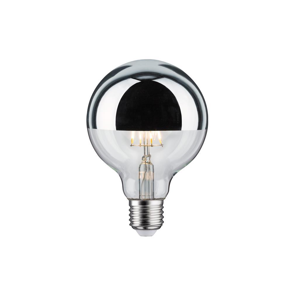 paulmann kopfspiegel leuchtmittel silber tropfen agl globe lampe leuchte birne ebay. Black Bedroom Furniture Sets. Home Design Ideas