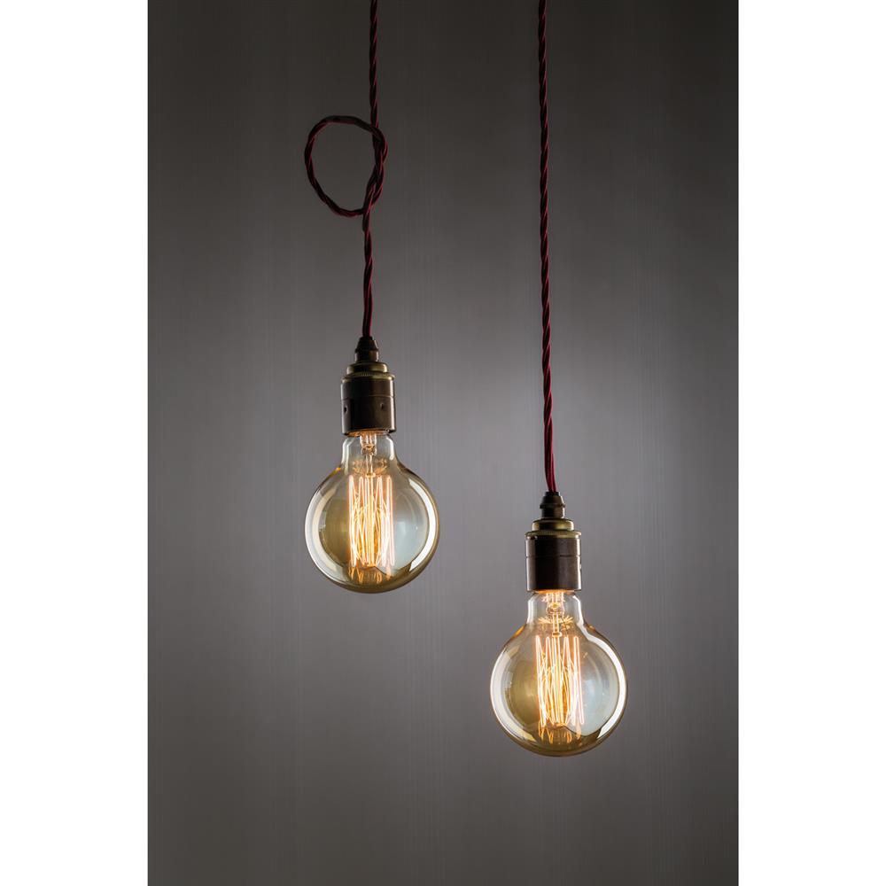 paulmann globe 95 rustika 40w e27 230v gold gl hlampe gl hbirne leuchtmittel. Black Bedroom Furniture Sets. Home Design Ideas