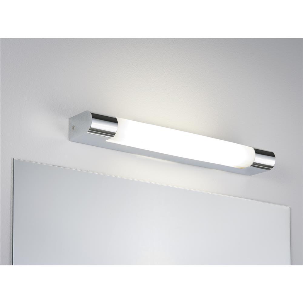 paulmann wallceiling mizar ip44 8w g5 370mm chrom wei wandlampe leuchte licht ebay. Black Bedroom Furniture Sets. Home Design Ideas