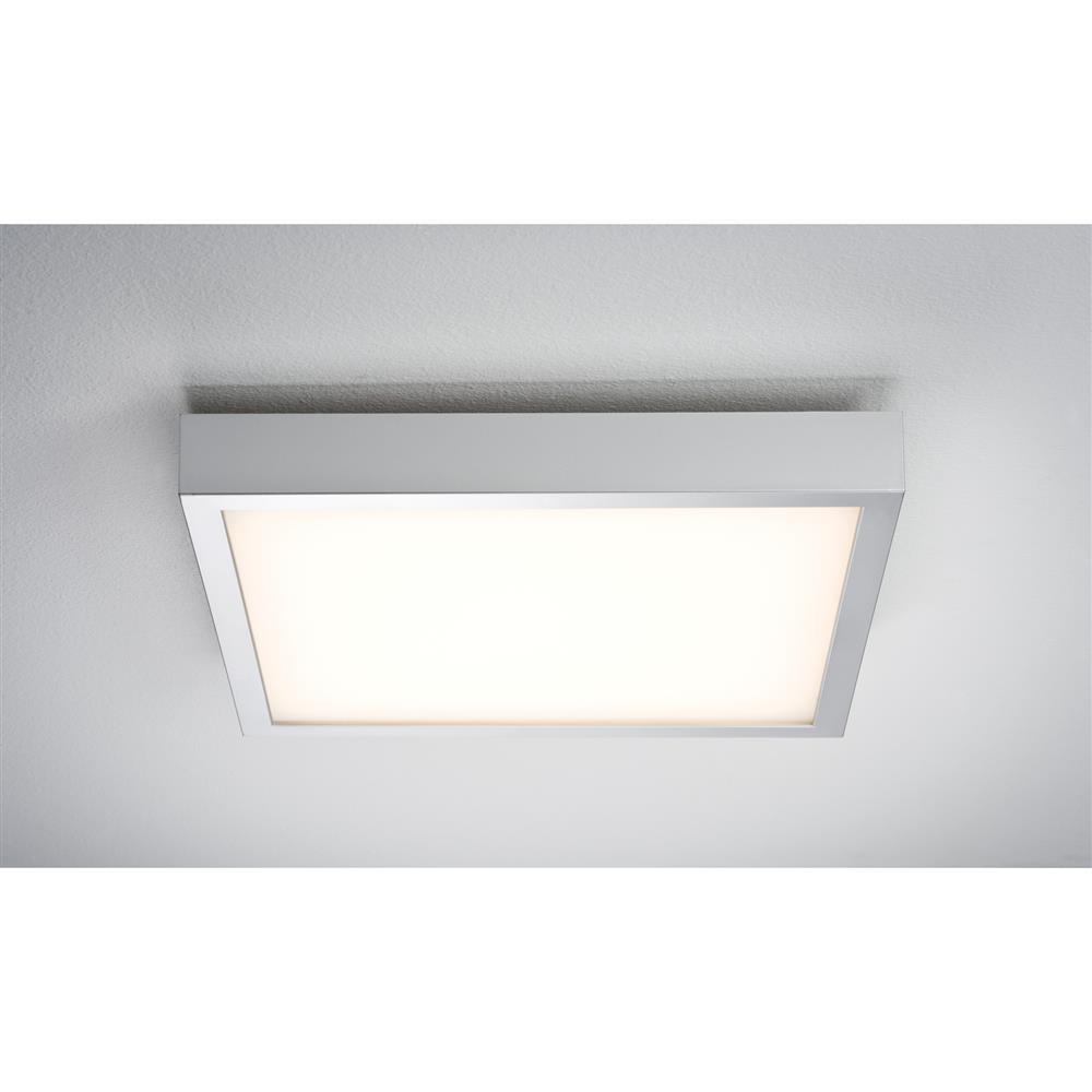 paulmann wallceiling space led panel 360x360mm 18 5w 230v chrom deckenlampe ebay. Black Bedroom Furniture Sets. Home Design Ideas