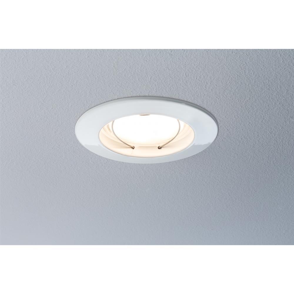 paulmann premium ebl set coin dimmbar led 3x7w einbau leuchte lampe licht wei ebay. Black Bedroom Furniture Sets. Home Design Ideas