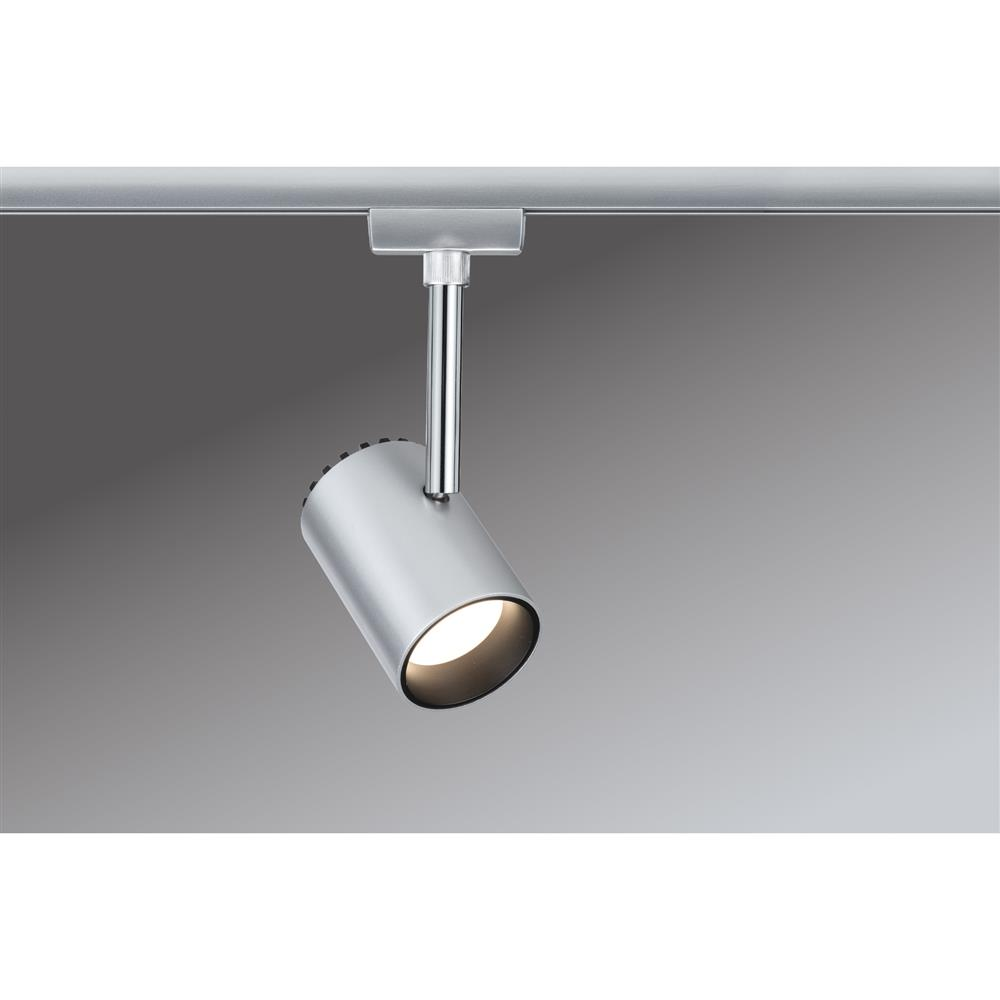 paulmann urail system led spot shine 1x5w chrom matt spot strahler beleuchtung ebay. Black Bedroom Furniture Sets. Home Design Ideas