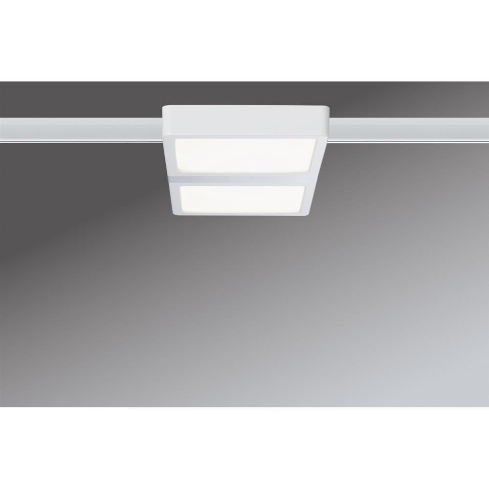 paulmann urail system led panel double 8w wei decken leuchte lampe licht wand ebay. Black Bedroom Furniture Sets. Home Design Ideas