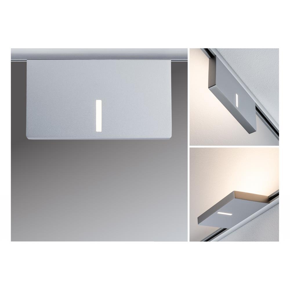 paulmann urail spot uplight case 16w chrom matt eckig decken leuchte lampe wand ebay. Black Bedroom Furniture Sets. Home Design Ideas