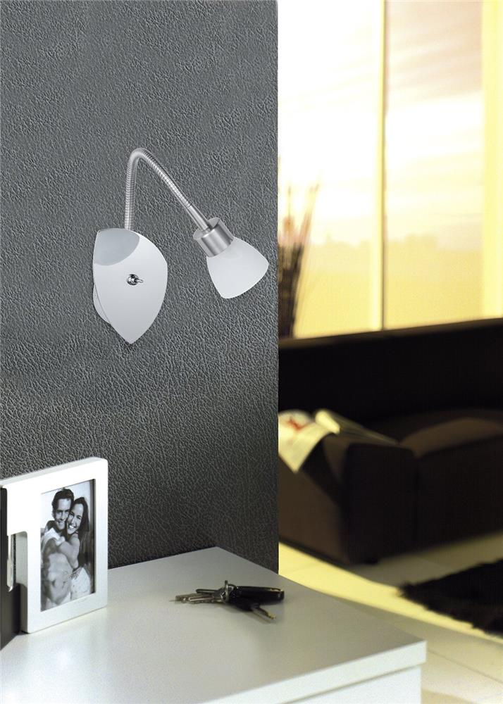 trio leuchten 8161911 07 strahler serie 8161 wand spot design lampe leuchte ebay. Black Bedroom Furniture Sets. Home Design Ideas