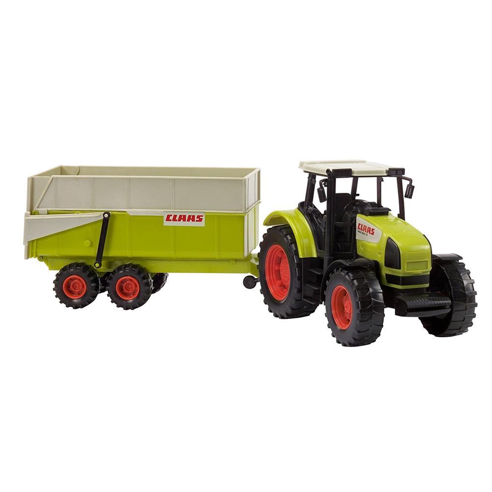 Dickie toys claas ares set traktor mit kipper