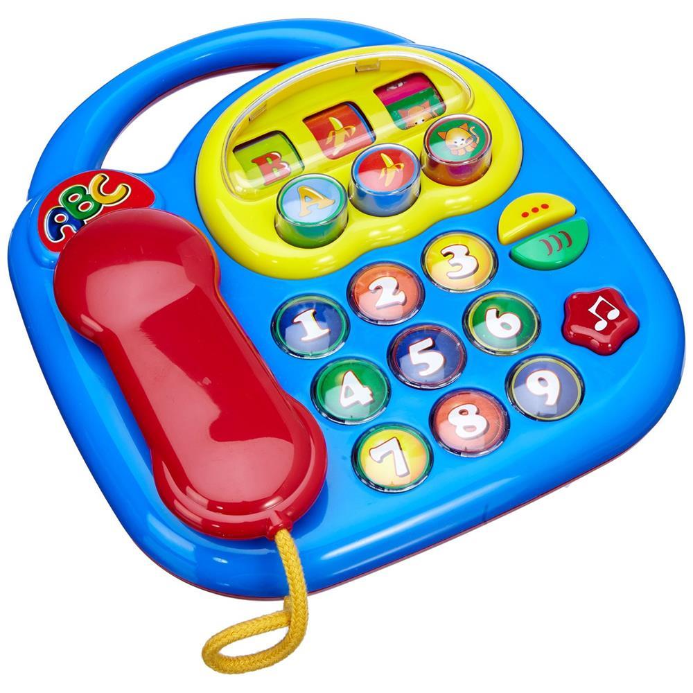 Simba abc telefon mit sounds und drehbilder