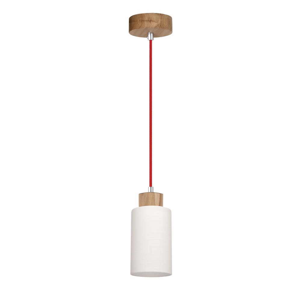spot light bosco rot design lampe leuchte holz metall. Black Bedroom Furniture Sets. Home Design Ideas