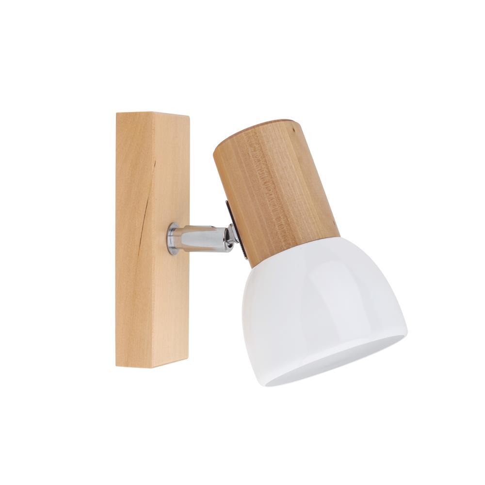 spot light svenda deckenleuchte schiene spot wandleuchte wandstrahler holz lampe ebay. Black Bedroom Furniture Sets. Home Design Ideas