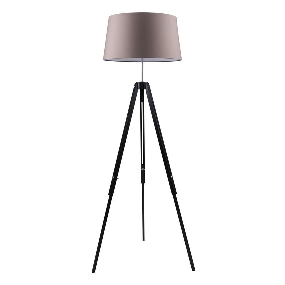spot light 6023004 stehleuchte tripod e27 schwarz ch ebay. Black Bedroom Furniture Sets. Home Design Ideas