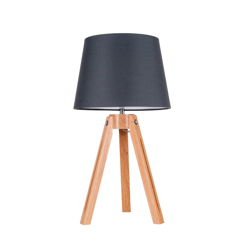 Attractive Spot Light Tripod Tischleuchte Holz Modern Deko Design  Photo Gallery