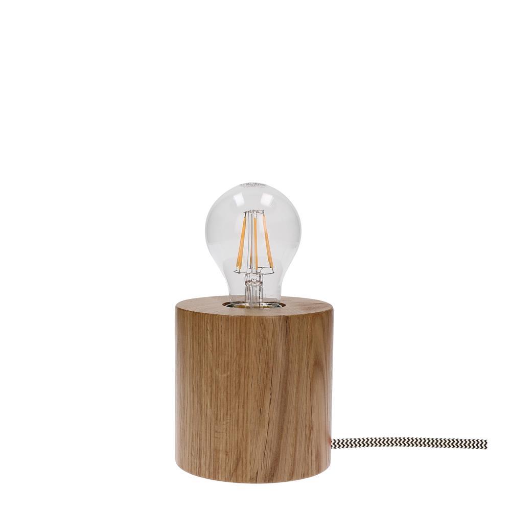 spot light trongo tisch leuchte modern holz lampe lese design deko gl hbirne ebay. Black Bedroom Furniture Sets. Home Design Ideas