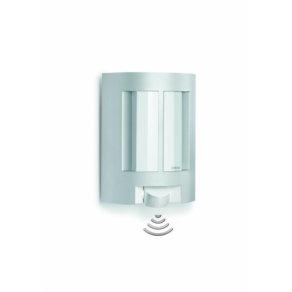 Steinel 657710 l 11 silber wandlampe au enleuchte for Hausfronten modern