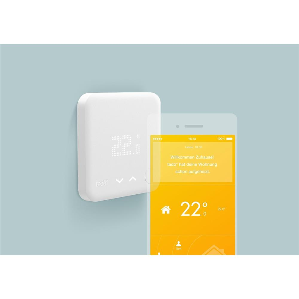 tado smart thermostat starter kit intelligente heizungssteuerung app smarthome ebay. Black Bedroom Furniture Sets. Home Design Ideas
