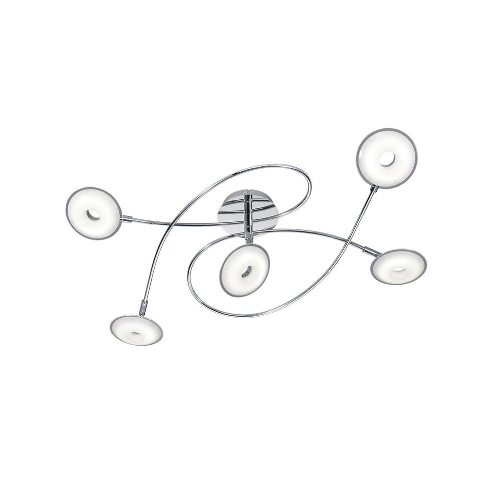 trio leuchten 675910506 deckenleuchte pilatus decken lampe leuchte kronleuchter ebay. Black Bedroom Furniture Sets. Home Design Ideas