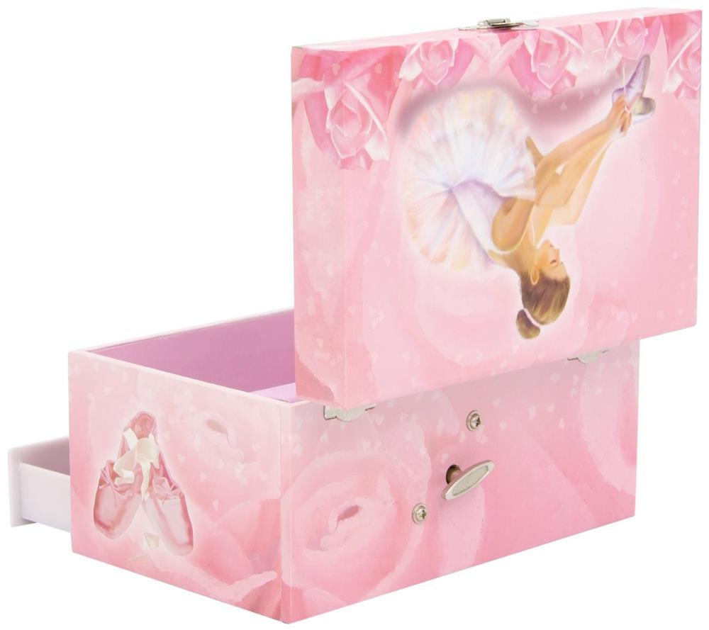 trousselier s60974 spieluhr xl white ballerina kinder spielzeug schmuckkiste ebay. Black Bedroom Furniture Sets. Home Design Ideas