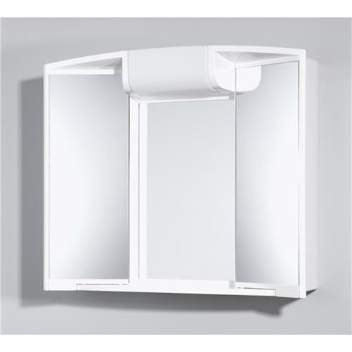 Jokey Spiegelschrank angy 3D Steckdose Licht Zwei Spiegeltüren